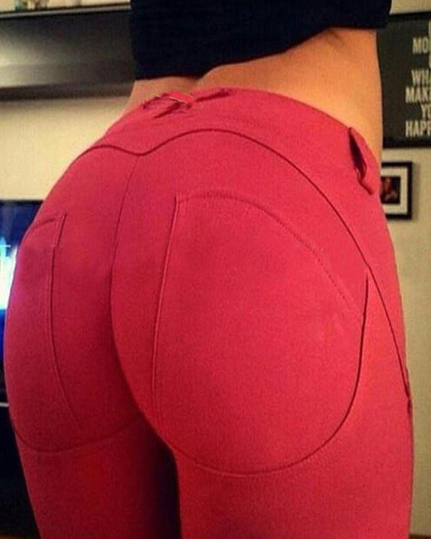 Sexy Women High Elasticity Hip Lift Yoga Pants