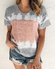 Round Neck Loose T-Shirt
