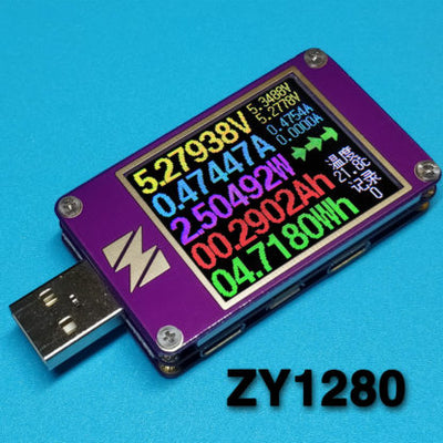 YZXStudio ZY1280 USB Power Monitor