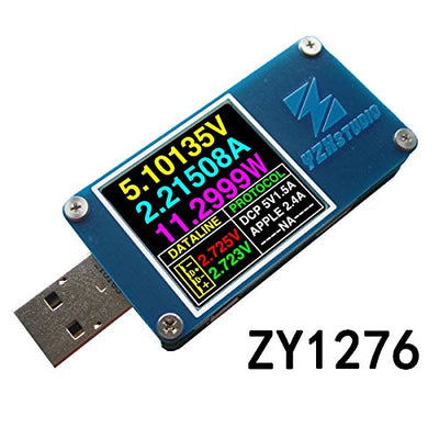 Bluetooth Backcover for YZXstudio ZY1270 USB Multimeter Voltage Current