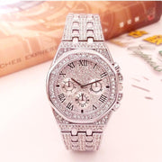 Premium Men Iced Out Watches Waterproof Diamond Starry Sky  AP watch