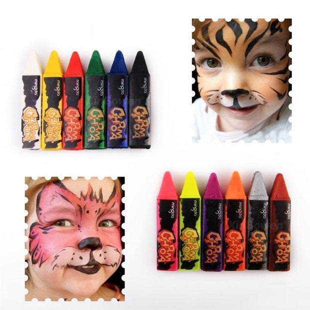 Body Painting Master Pen 12color (Wash Washable&Kids Available)