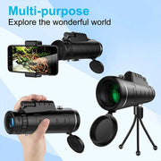 Portable Monocular Telescope HD for Cellphone