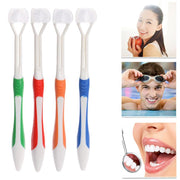 3 Sided Toothbrush 2 Pcs