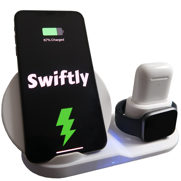 Swiftly Wireless Charging Station