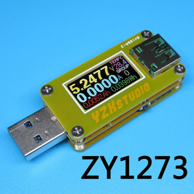 YZXStudio ZY1273  Colour USB 3.0 Power Monitor