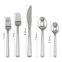 Load image into Gallery viewer, Supreme Stainless Steel 20-Piece Bistro Flatware Set