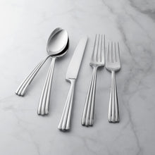 Load image into Gallery viewer, Supreme Stainless Steel 20-Piece Rainfall Flatware Set