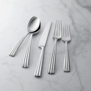 Supreme Stainless Steel 20-Piece Rainfall Flatware Set
