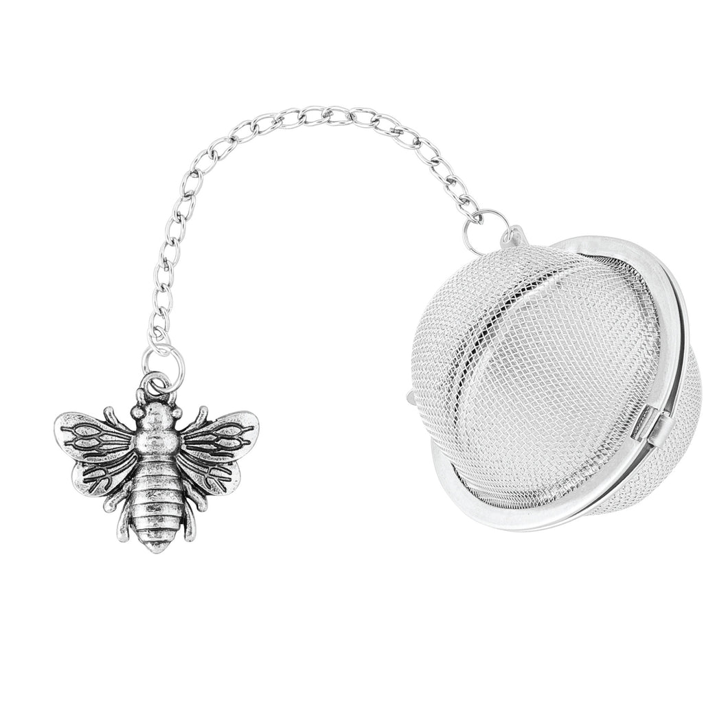 Supreme Stainless Steel Tea Ball Infuser with Bee Charm