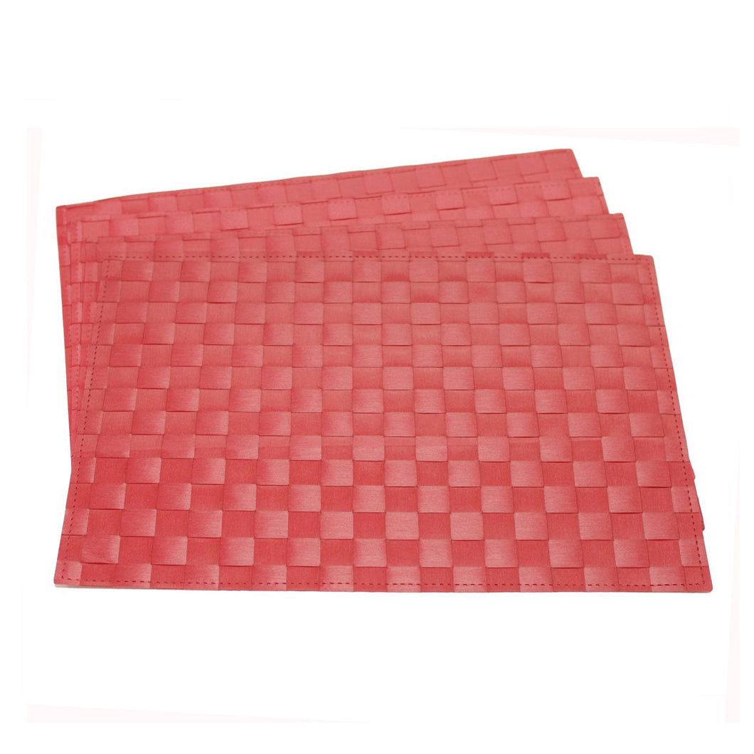 Gourmet Art 4-Piece PP Placemat, Jockey Red