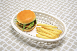 Gourmet Art 6-Piece Patriotic Burger Basket