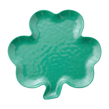 "Load image into Gallery viewer, Gourmet Art Shamrock Melamine 11 1/4"" Plate"