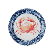 "Load image into Gallery viewer, Gourmet Art 4-Piece Crab Melamine 6"" Plate"
