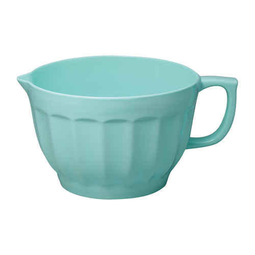 Gourmet Art Latte Melamine 4.3 qt. Batter Bowl, Blue