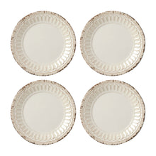 "Load image into Gallery viewer, Gourmet Art 4-Piece Chateau Melamine 6"" Plate, Sand"