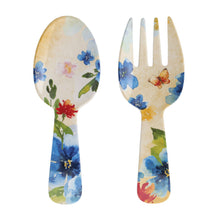 Load image into Gallery viewer, Gourmet Art 2-Piece Butterfly Melamine Salad Server