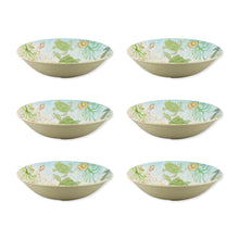 "Load image into Gallery viewer, Gourmet Art 6-Piece Sealife Turtle Melamine 8"" Bowl"