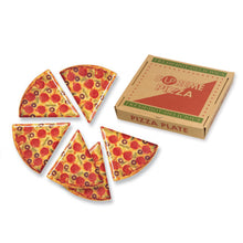 "Load image into Gallery viewer, Gourmet Art 6-Piece Melamine 9"" Pizza Plate"