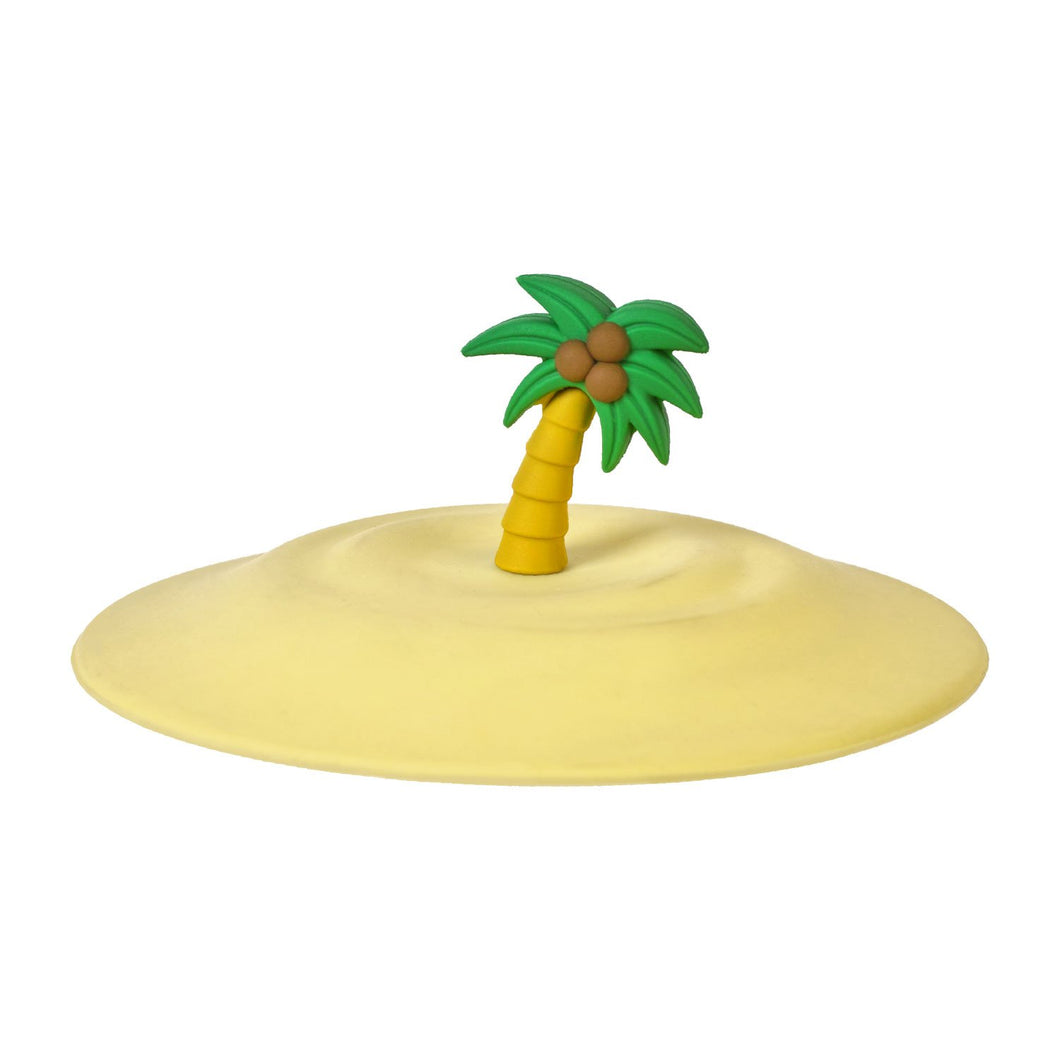 Gourmet Art Palm Tree Silicone Magic Cup Cap