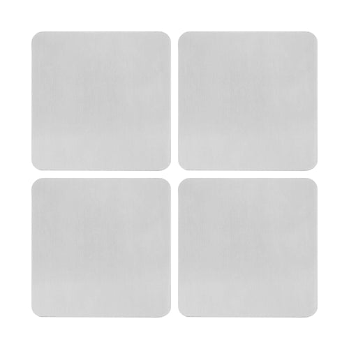 Supreme Stainless Steel 4-Piece Coaster