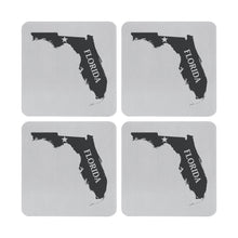 Load image into Gallery viewer, Supreme Stainless Steel 4-Piece Florida Coaster