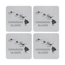 Load image into Gallery viewer, Supreme Stainless Steel 4-Piece Hawaii Coaster