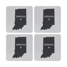 Load image into Gallery viewer, Supreme Stainless Steel 4-Piece Indiana Coaster