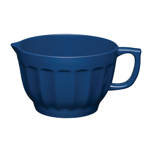 Gourmet Art Latte Melamine 4.3 qt. Batter Bowl, Navy