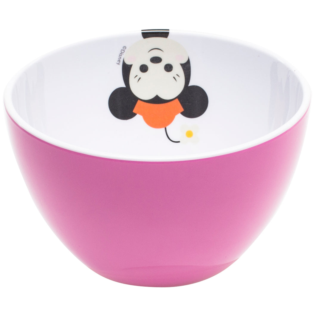 Gourmet Art 2-Piece Minnie Mouse Melamine Cereal Bowl