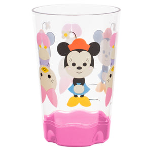 Gourmet Art 2-Piece Minnie Mouse Plastic 9 oz. Cup