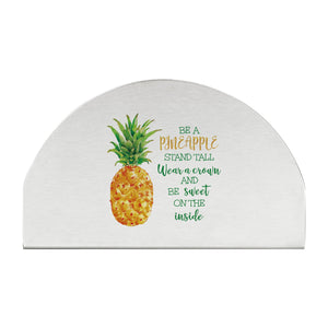 Supreme Stainless Steel Pineapple Napkin Holder