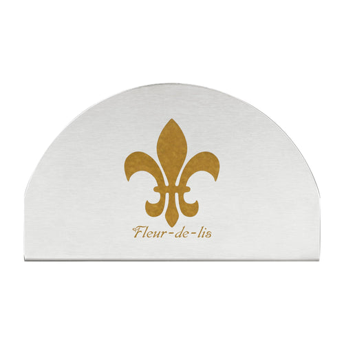 Supreme Stainless Steel Fleur-de-lis Napkin Holder