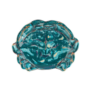 Gourmet Art 4-Piece Sealife Crab Melamine 9 1/2 Plate