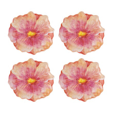 Load image into Gallery viewer, Gourmet Art 4-Piece Tiger Lily Melamine 6 Plate