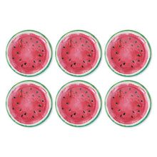 Load image into Gallery viewer, Gourmet Art 6-Piece Watermelon Melamine 9 Plate