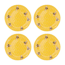Load image into Gallery viewer, Gourmet Art 4-Piece Beehive Melamine 6 Plate