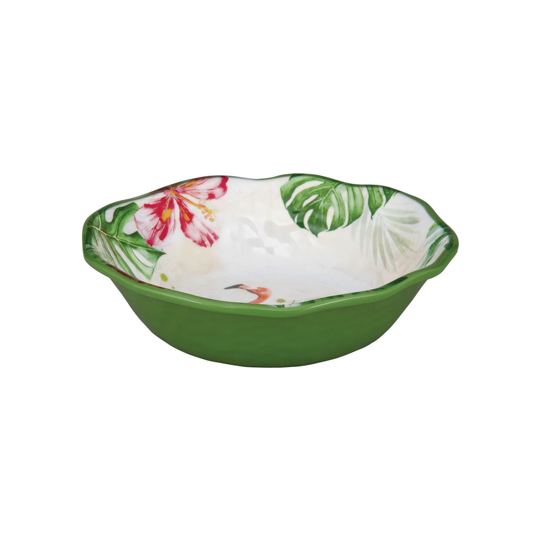 Gourmet Art 6-Piece Flamingo Melamine 7 1/2 Bowl