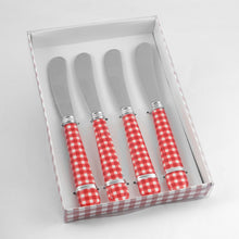 Load image into Gallery viewer, Gourmet Art 4-Piece Stripes Cheese Spreader