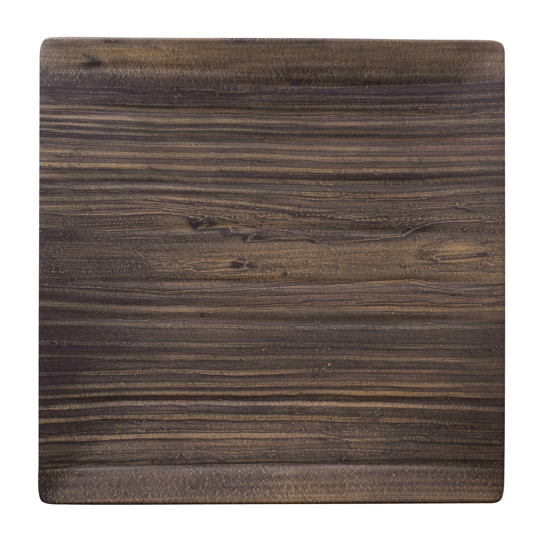 Gourmet Art 6-Piece Natural Teak Melamine 10 3/4