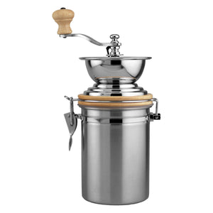 Supreme Stainless Steel Coffee Grinder with 24 oz. Canister
