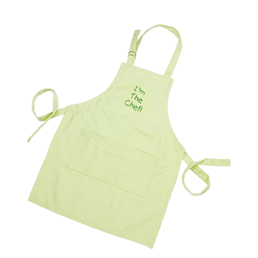 Gourmet Art I'm the Chef! Kids Apron, Green
