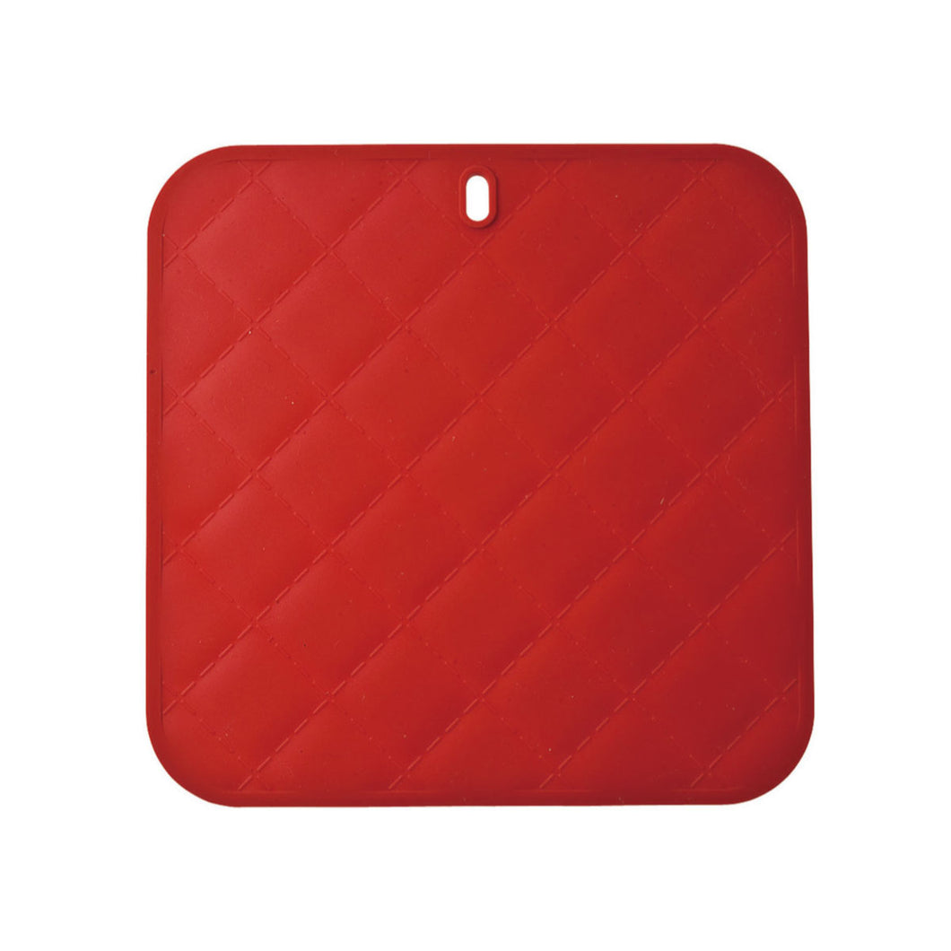 Gourmet Art Diamond Pot Silicone Holder, Red