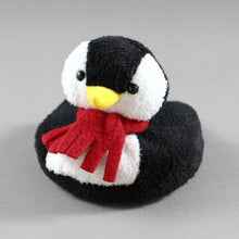 Load image into Gallery viewer, Drinkwear 4-Piece Penguin Plush Coaster
