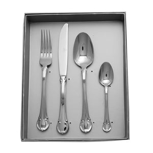 Supreme Stainless Steel 16-Piece Flatware Set, Classic