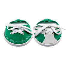 Load image into Gallery viewer, Drinkwear 2-Piece Tennis Shoe Coaster, Dark Green