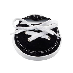 Drinkwear 2-Piece Tennis Shoe Coaster, Black