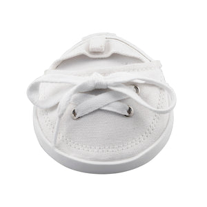 Drinkwear 2-Piece Tennis Shoe Coaster, White