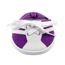 Load image into Gallery viewer, Drinkwear 2-Piece Tennis Shoe Coaster, Purple