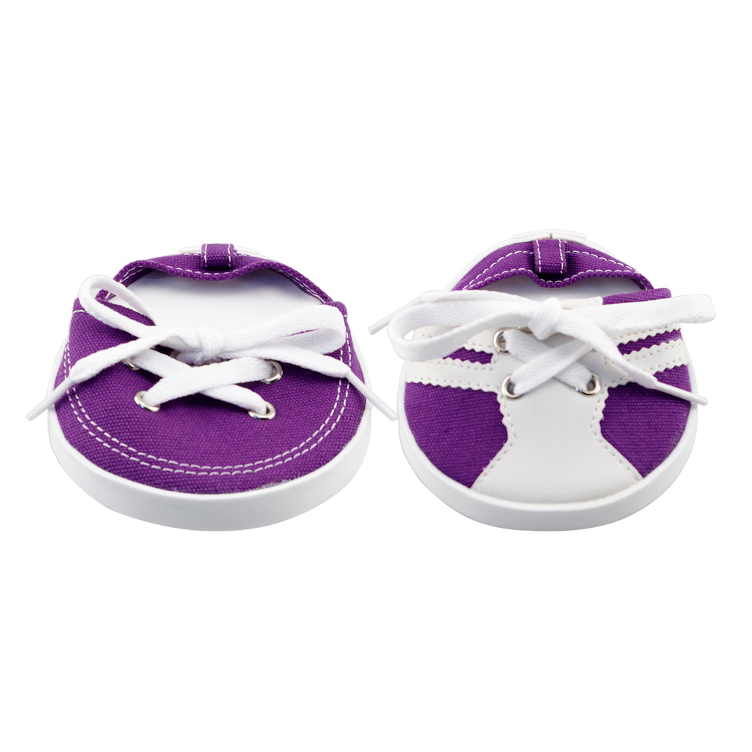 Drinkwear 2-Piece Tennis Shoe Coaster, Purple